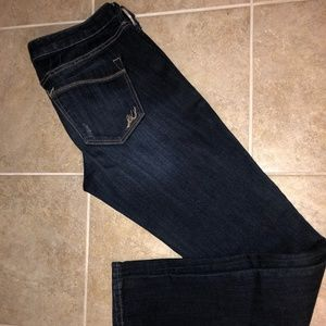 Express Ankle Skinny Stella Low Rise Jeans